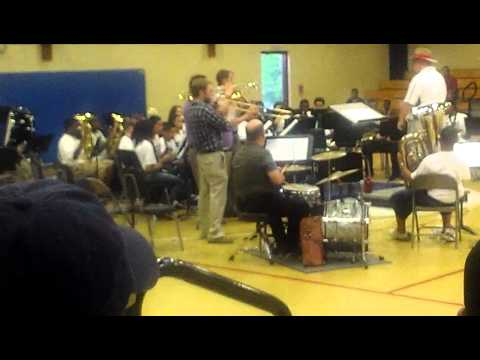 Eaton Johnson Middle School Band 4