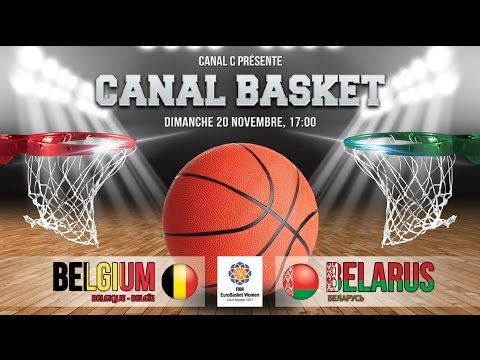 Belgium vs Belarus (Qualification EuroBasket Women 2017)