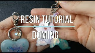 Resin Doming Tutorial   How to dome   Watch me resin   Seriously Creative