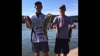 Tyler Kincaid Memorial Tournament 3rd Place Finish(BIG BASS CAUGHT)
