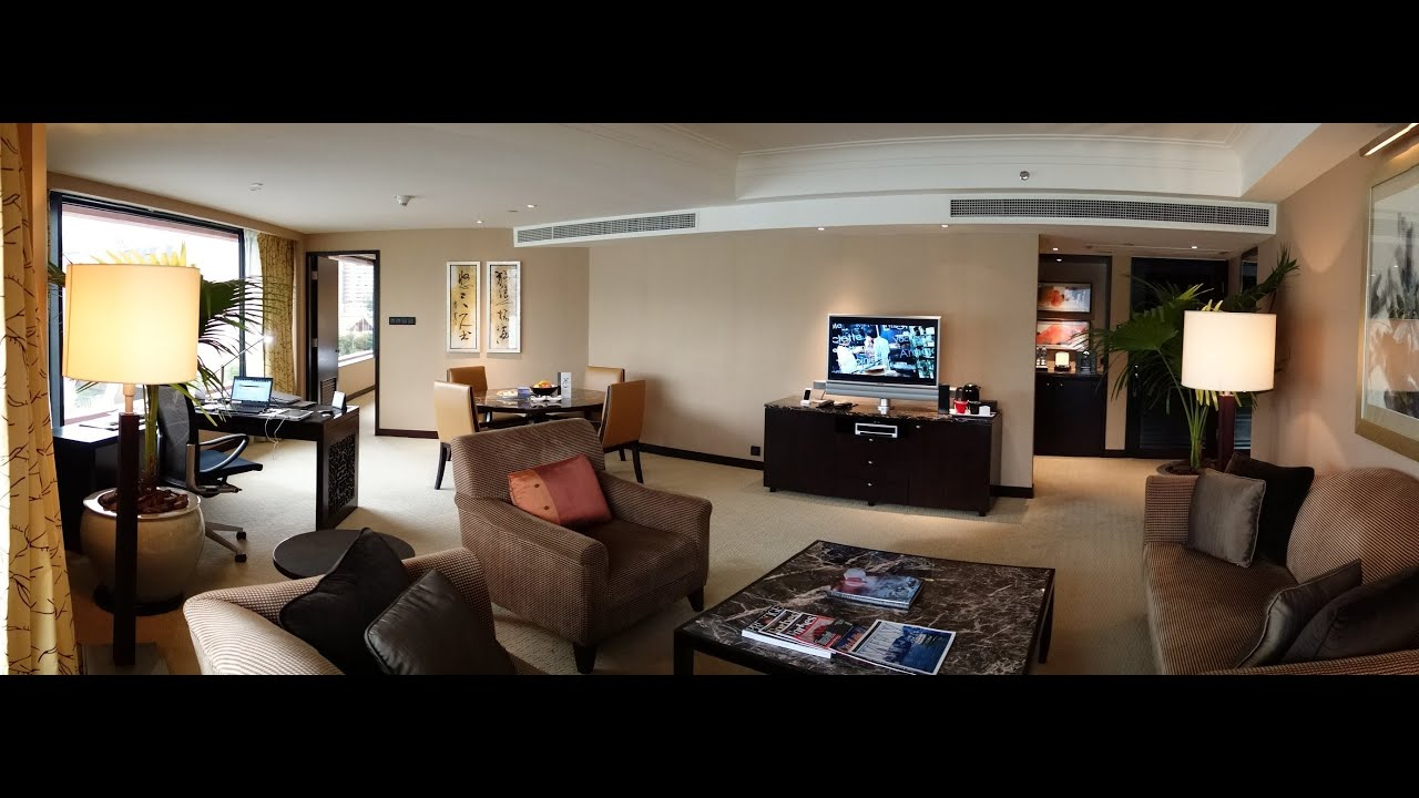 Intercontinental Hong Kong Deluxe Suite Full Harbour View
