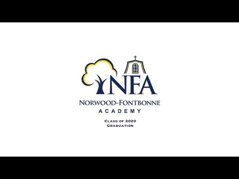 Norwood Fontbonne Academy Graduation 2020