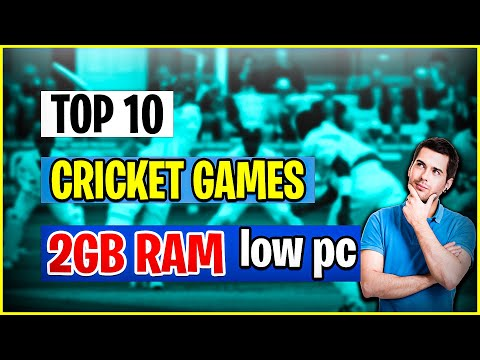 TOP 10 BEST CRICKET GAMES FOR PC || CRICKET GAME FOR PC 2GB RAM || LOW END PC