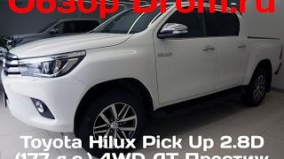 видео Toyota Hilux Pick Up