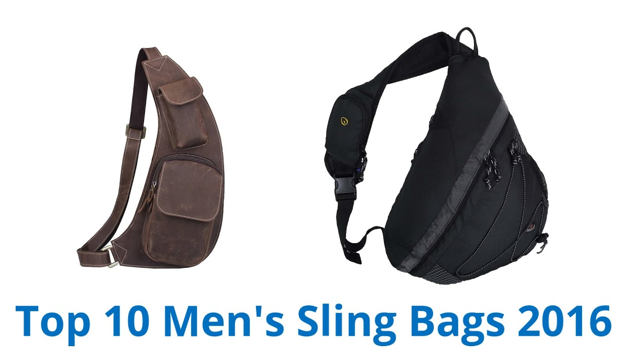 10 Best Men's Sling Bags 2016 - YouTube