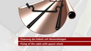 Нагревательный кабель со встроенным термостатом для обогрева труб и водостоков Hemstedt.(Кабель DAS 30W/m используется для обогрева водостоков. При диаметре трубы более 100мм рекомендуется данный кабе..., 2013-07-25T08:50:38.000Z)