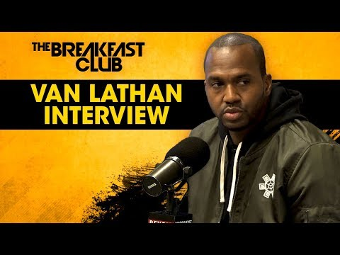 Van Lathan Talks TMZ, Weight Loss, 'The Red Pill' Podcast + More