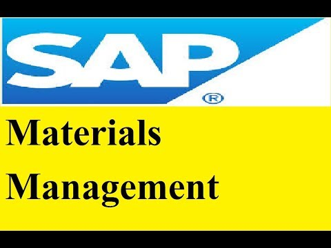 sap mm training - material master views creation