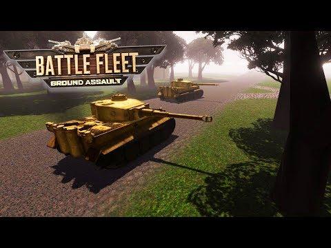 Historical 1944 Invasion of Normandy Beach - US Army | Battle Fleet Ground Assault Gameplay