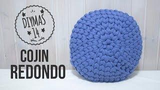 Cojin Redondo de crochet