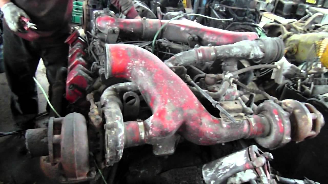 used daewoo engine dv15tis heavykorea 2) - YouTube