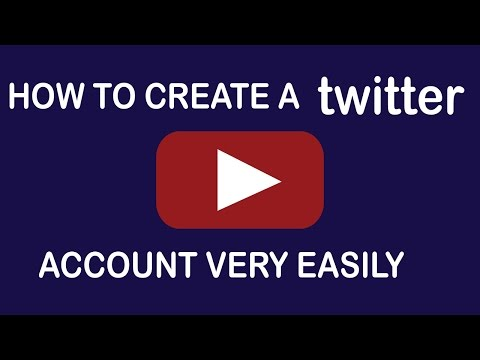 How to create a twitter account|how to setup twitter account
