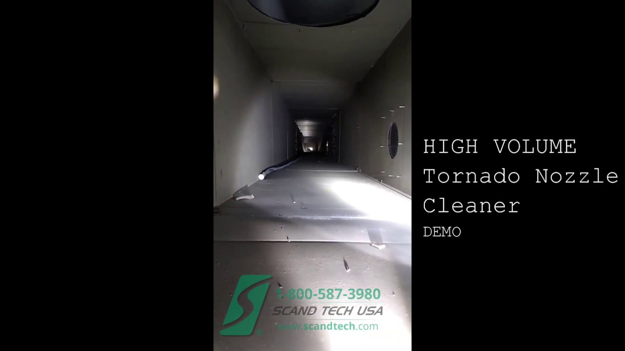 Scand Tech High Volume Tornado Nozzle Duct Cleaning Equipment