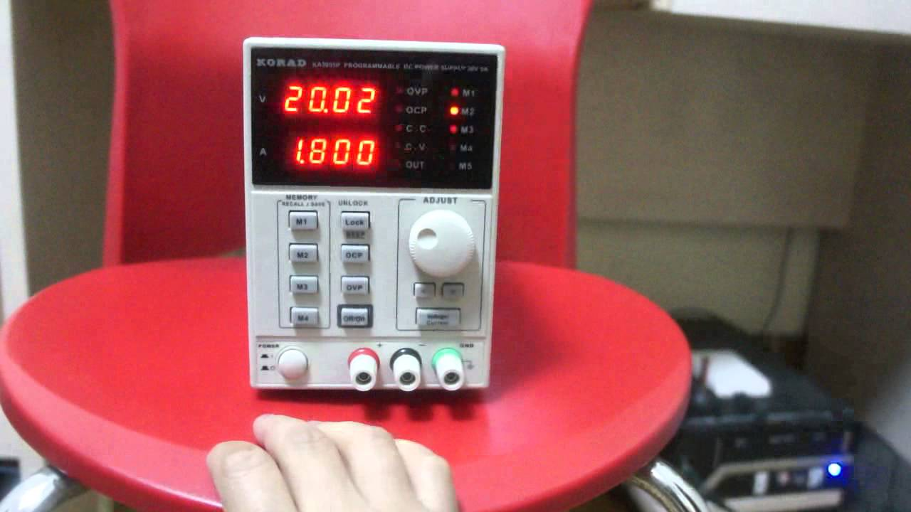 KA3005P Programmable Adjustable 30V, 5A DC Linear Power Supply Lab Grade  (with USB, software)