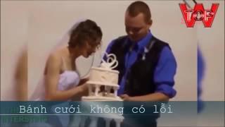 Những tình huống buồn cười nhất trong đám cưới / risk at the wedding event