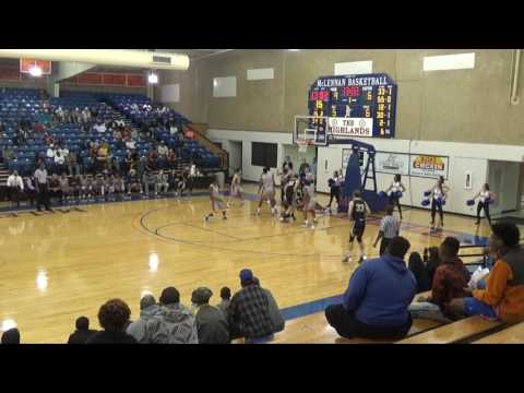 1-18-17 Weatherford College vs McLennan College Men's Basketball Game