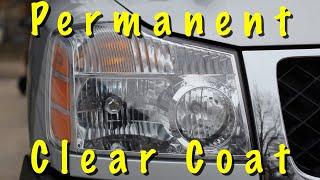 DIY Headlight Restoration (The PERMANENT Fix) Hazy Headlights Look New