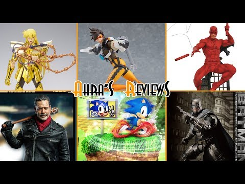 Action Figures News #16 - Overwatch Tracer Figma, Negan Threezero, DAH Batman V Superman