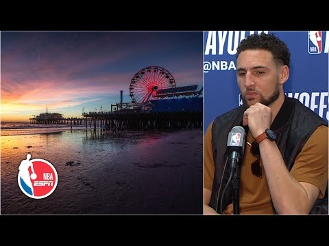 Klay Thompson: I jumped into the ocean to reset my mind before Game 4 | 2019 NBA Playoffs