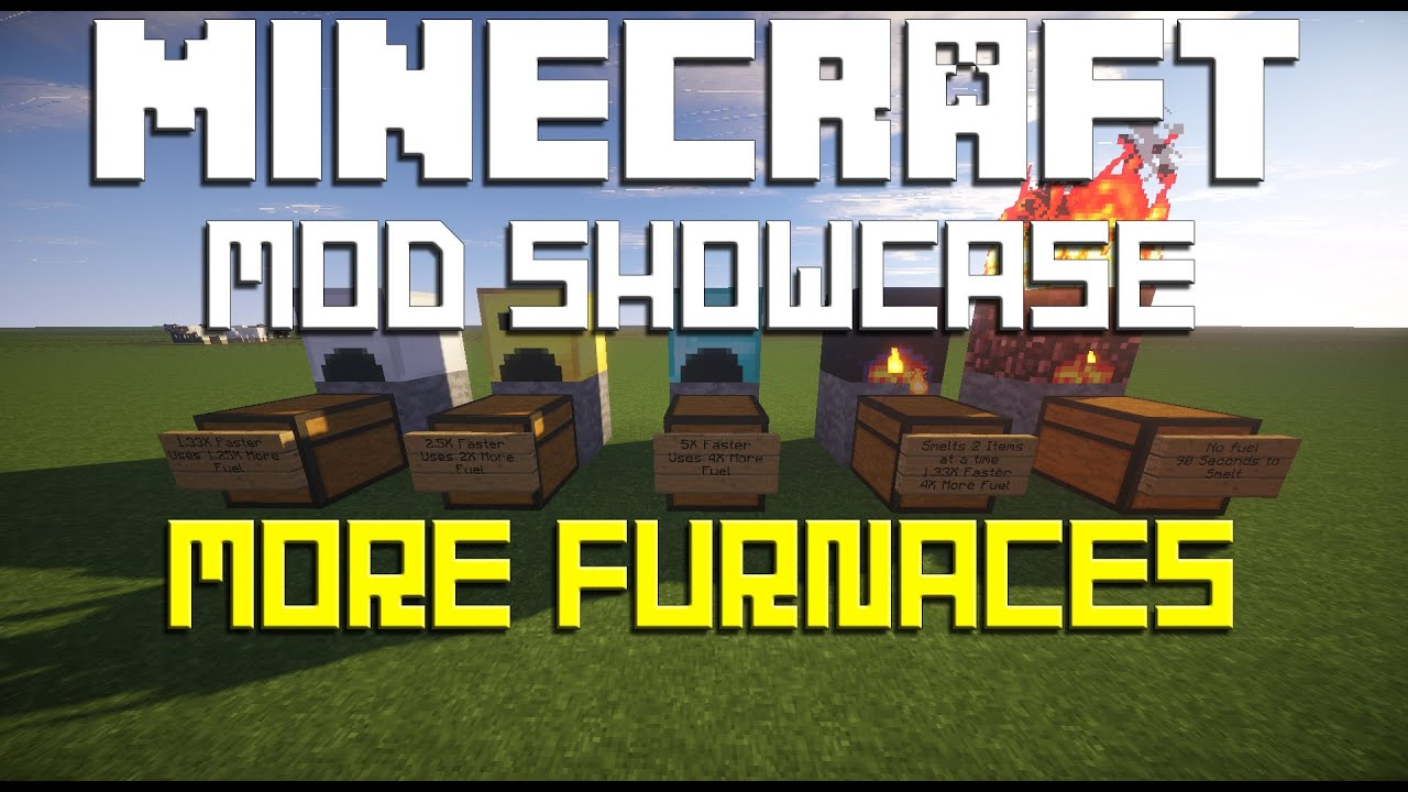 Minecraft Mod Showcase More Furnaces Mod (1.7.10 and Older