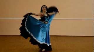 Цыганский танец. Соло Натальи Кулишенко(, 2013-02-15T10:53:15.000Z)