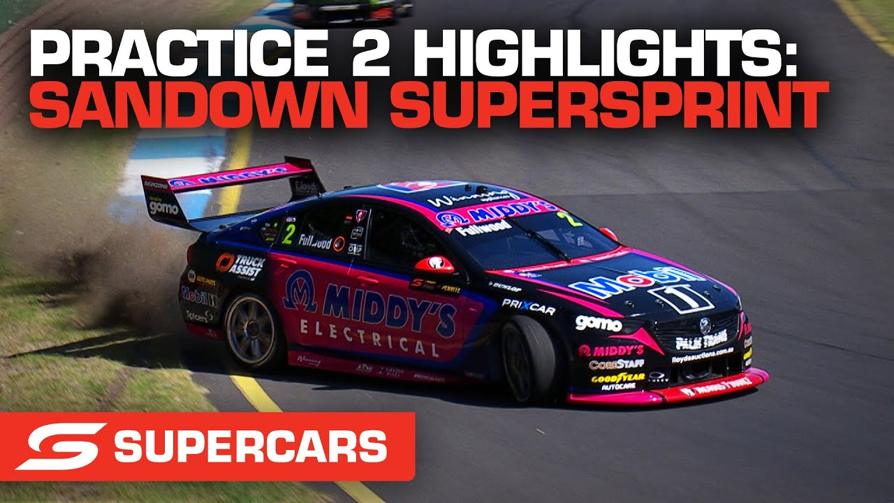 Practice 2 Highlights - Penrite Oil Sandown SuperSprint | Supercars 2021