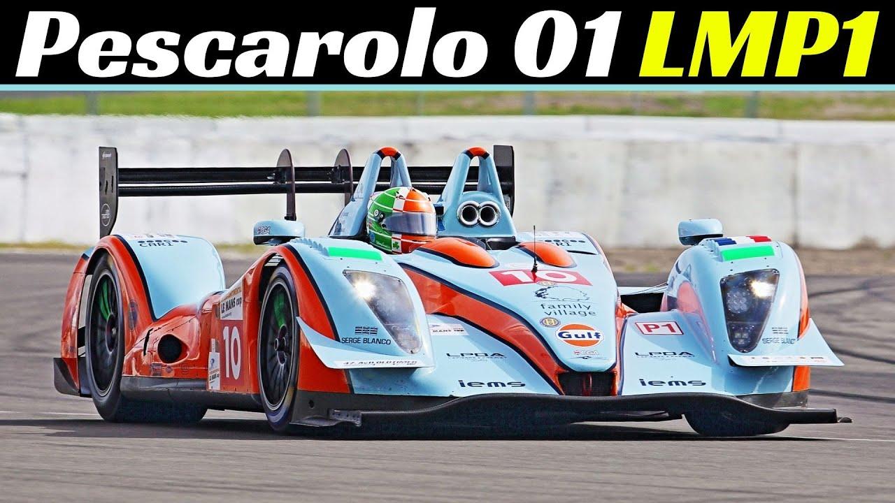 Pescarolo 01 LMP1 OAK Racing - ex 24h Le Mans Prototype, Now Powered by V8 Judd Engine - Nürburgring