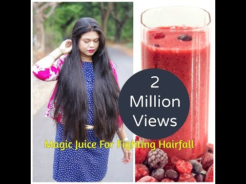 Magic Juice For Fighting Hairfall And A Super Glowing Skin|Sushmita's Diaries