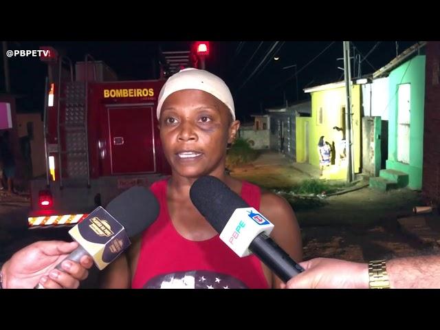 TENTATIVA DE FEMINICÍDIO EM ITAMBÉ, HOMEM COLOCA FOGO EM CASA
