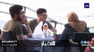 الإفطار على شاطئ البحر في غزة متنفس الفلسطينيين تحت الحصار - (12-6-2018)
