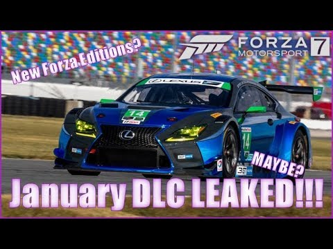 forza motorsport 7 january dlc leaked maybe youtube. Black Bedroom Furniture Sets. Home Design Ideas