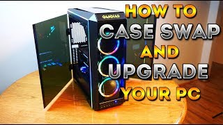 How To Case Swap And Upgrade Your PC (Talos P1)