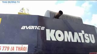 Cận cảnh 2 xe cuốc KOMATSU PC400 quá khủng lần đầu xuất hiện ở miền tây
