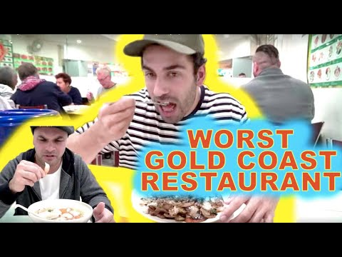 Eating At The WORST Reviewed Restaurant In My City! (Gold Coast)