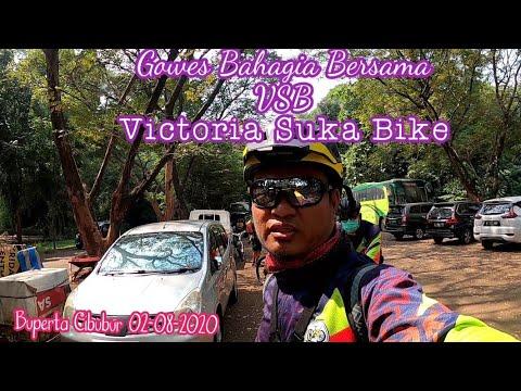 GOWES Santai Di Buperta Cibubur Bersama VSB=Victoria Suka Bike