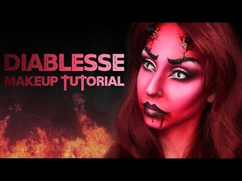 Diablesse Makeup HALLOWEEN 2017  Marion Cameleon