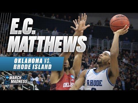 Rhode Island's E.C. Matthews powers the Rams to victory
