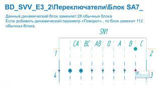 Создание базы стандартных элементов в AutoCAD