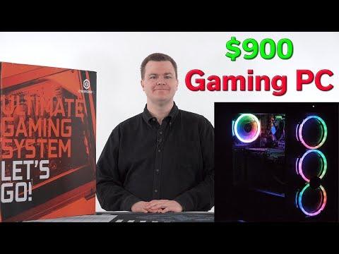 $900 Gaming PC — i5-9400 & GTX 1660 TI — Unboxing & Setup