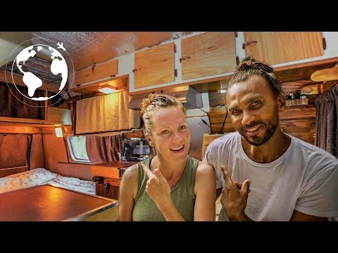 Couple Lives Year-round in a Van in Vancouver Canada
