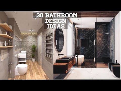 50 Small Bathroom Design Ideas 2020