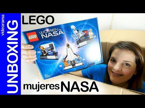 LEGO ideas Women of NASA unboxing - 👧 🛰 🔬 STEM POWER !!!