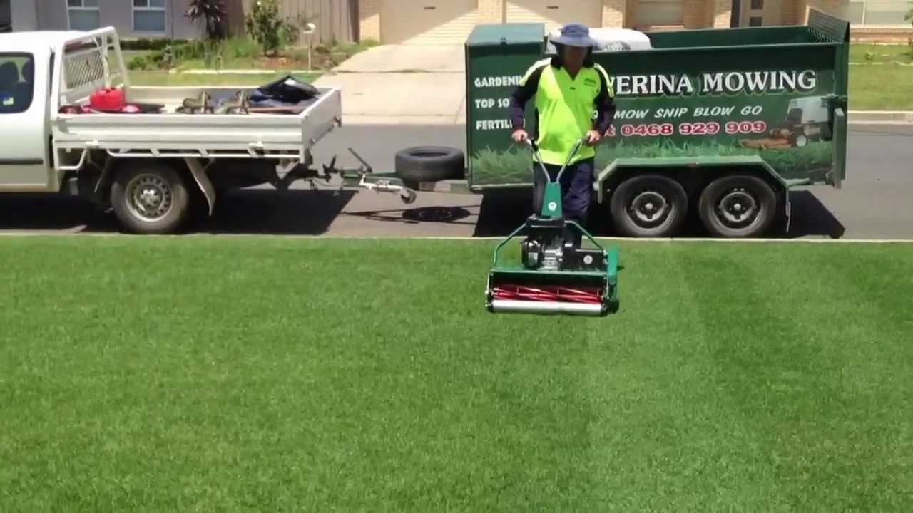Cylinder Lawn Mowing Wagga Youtube
