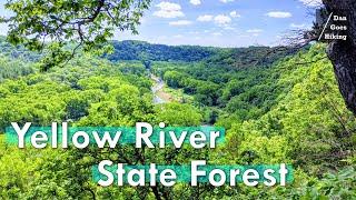 Yellow River State Foŗest - Iowa's BEST Backpacking Loop