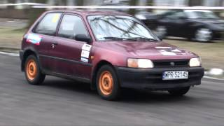 Hubert Rybicki - Toyota Starlet - 2 Runda Królewski Winter Cup  Tor Służewiec Warszawa 15-02-2015