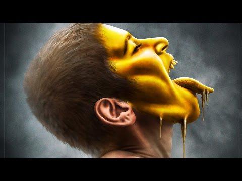 Melting Gold Effect   Photoshop Manipulation Tutorial