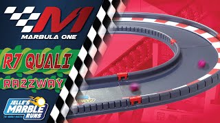 Marbula One: Razzway GP Qualifying (S1Q7) - Marble Race by Jelle's Marble Runs