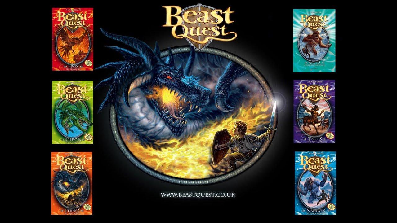 Beast Quest - Adam Blade - YouTube