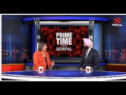 PrimeTime With Benipal - Jinny Simms |16 ਸਾਲ Tax ਵਧਾਏ, Health And Education  ਤੇ ਲਾਏ ਕੱਟ