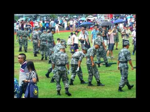 16年7月1日昂船洲軍營,開放日慶回歸